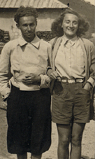 Guidetti Serra with Primo Levi